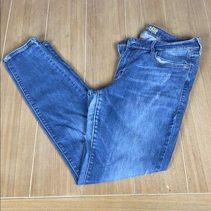 Old Navy The Rockstar Distressed Jeans Sz 12R